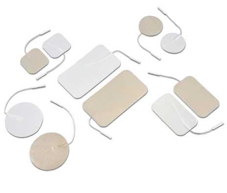 Electrodos adhesivos conexión cable, Electrodos adhesivos conexión
