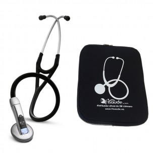 Fonendoscopio Littmann Electrónico 3200 con Bluetooth (Colores Disponibles) + Regalo de funda protectora acolchada
