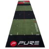 Alfombra Lanzamiento Golf 3.0 Pure2Improve: Simula las condiciones reales de putting green (65 x 300 cm)