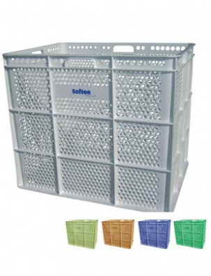 Banasta de pl stico para almacenaje balones mobiliario acu tico piscinas nataci n - Material para piscinas ...
