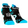 Compressport Pro Racing Scoks V2.1 - Calcetines Ultratécnico Bajo Run Low - Color Negro-Azul