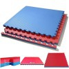 Tatami Puzzle Reversible Kinefis Color Azul - Rojo (grosor 40 mm)