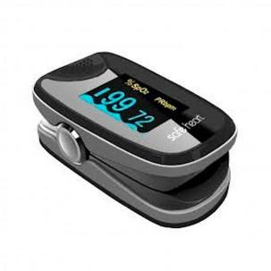 Pulsioxímetro de Dedo Adulto Safe Heart SHO-2, con Onda Plestimografica + Funda de Nylon
