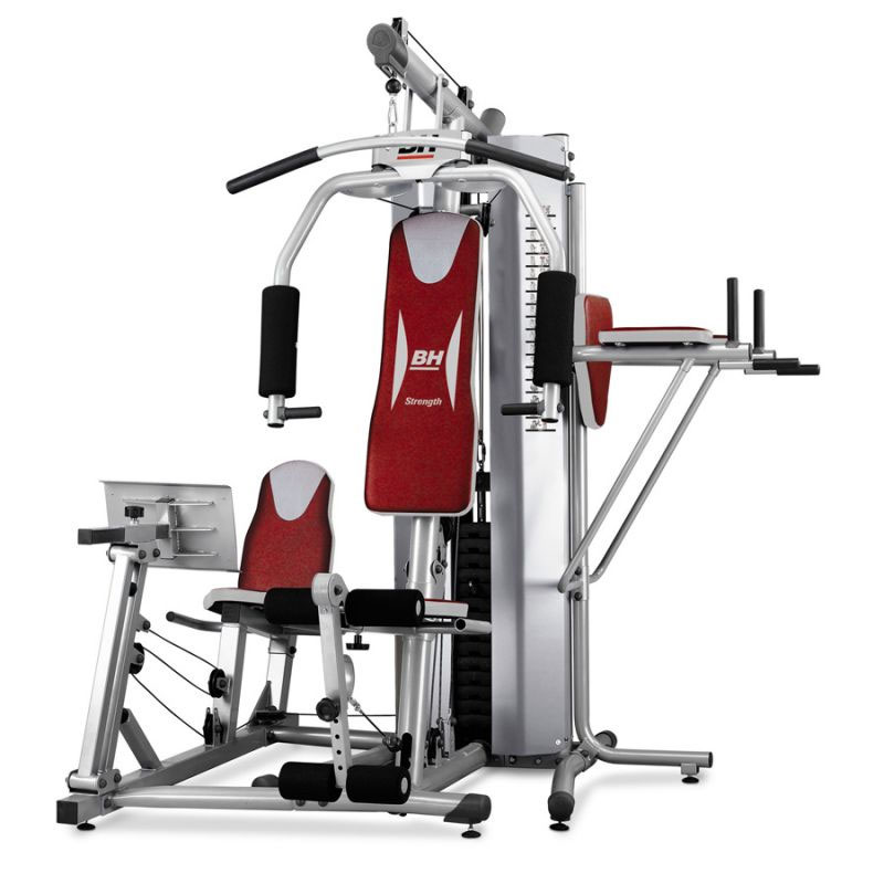Maquina de musculaci n global gym plus de bh fitness for Maquinas de musculacion