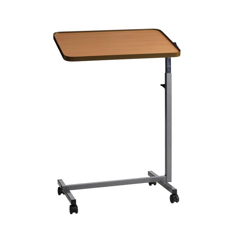 Mesa auxiliar inclinable para cama silla con 4 ruedas - Mesa auxiliar cama ...