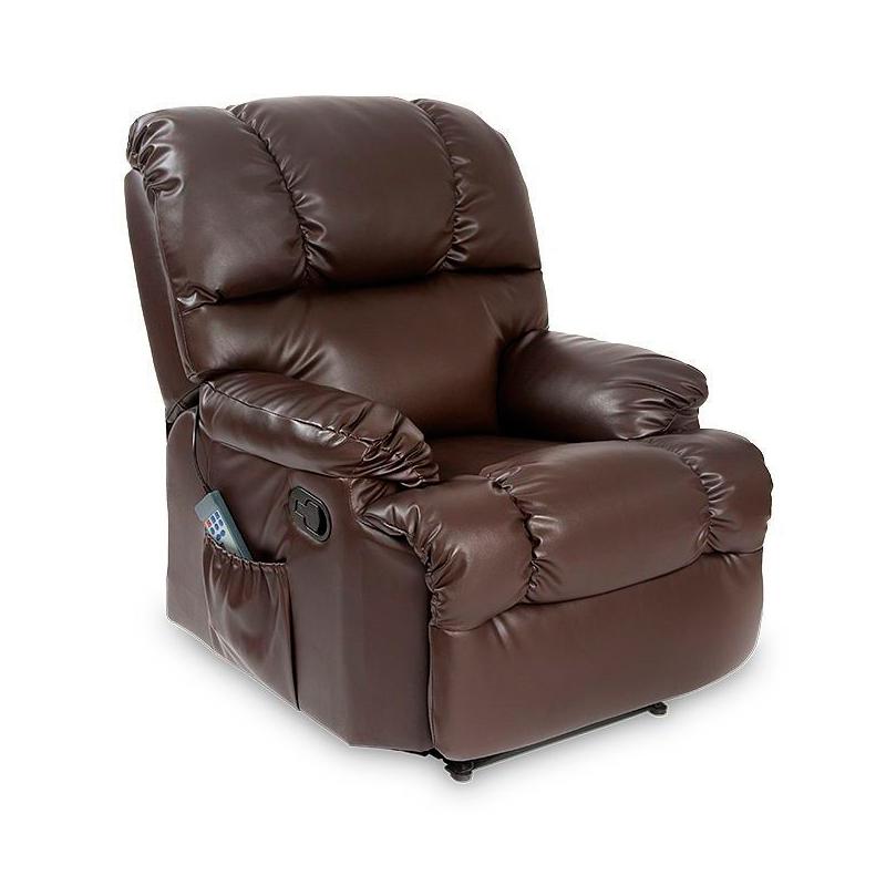 Sill n de relax con 10 funciones de masaje varios colores - Sillones de descanso y relax ...