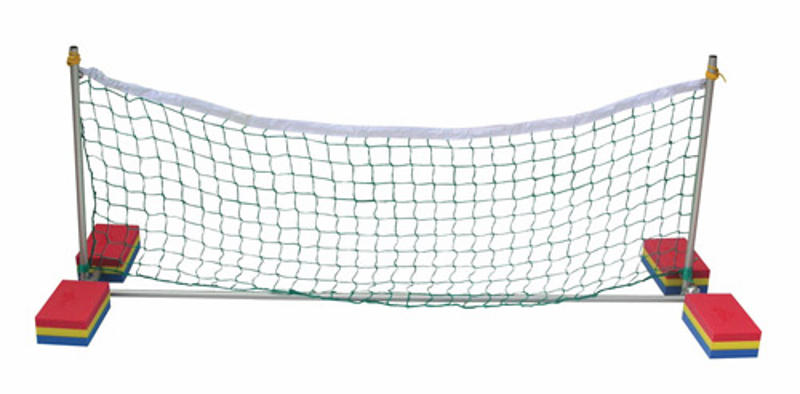 Juego acu tico voley aluminio 2 metros juegos y material recreativo para piscina piscinas - Red voley piscina ...