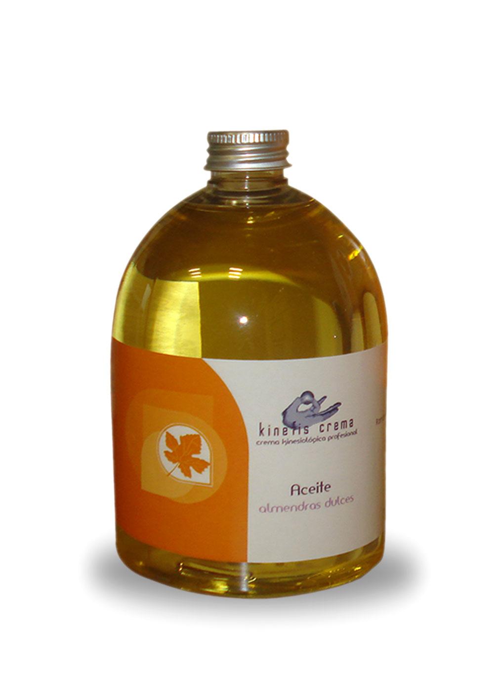 Aceite de Almendras 100% puro en envase de 500 ml con dosificador