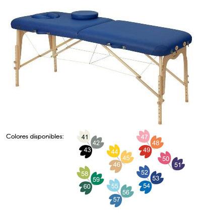 Camilla fisioterapia plegable