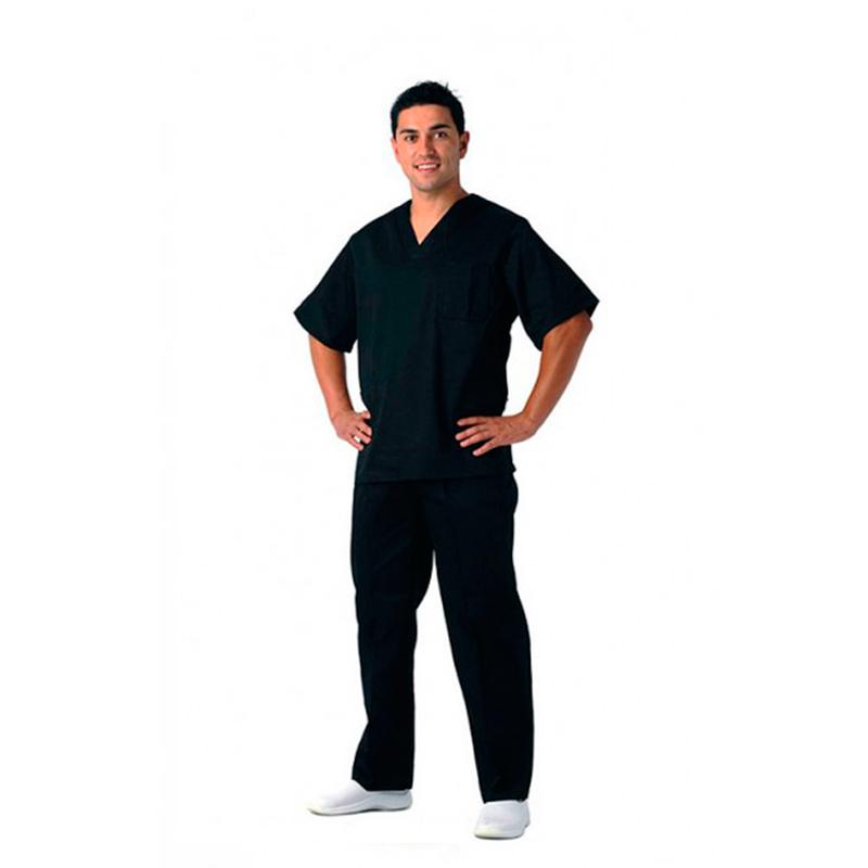 Pantal n sanitario negro unisex kinefis tergal 200 gramos for Sanitarios negros