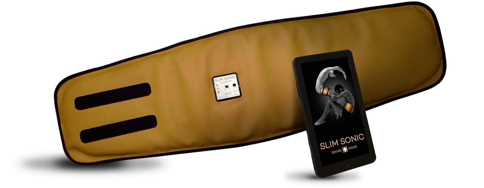Slim sonic l-1200: cinturón quemagrasas de uso intensivo